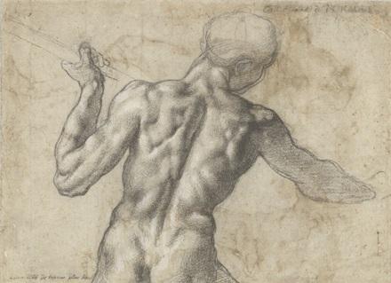 Микеланджело рисунки карандашом для детей009
