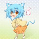 Милые картинки аниме кошечки девушки