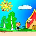 Милые картинки про октябрь для детского сада