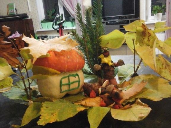 Милые картинки про октябрь для детского сада019