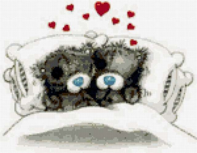 Мишки Тедди картинки с добрым утром007
