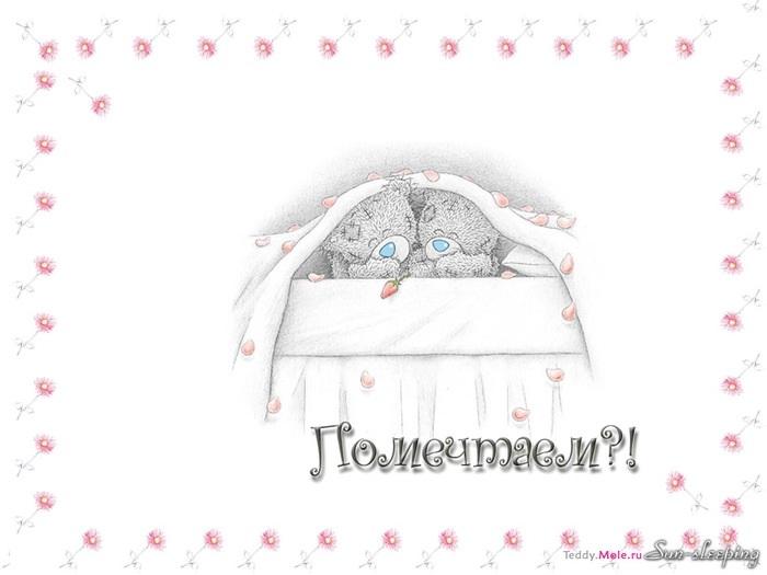Мишки Тедди картинки с добрым утром015