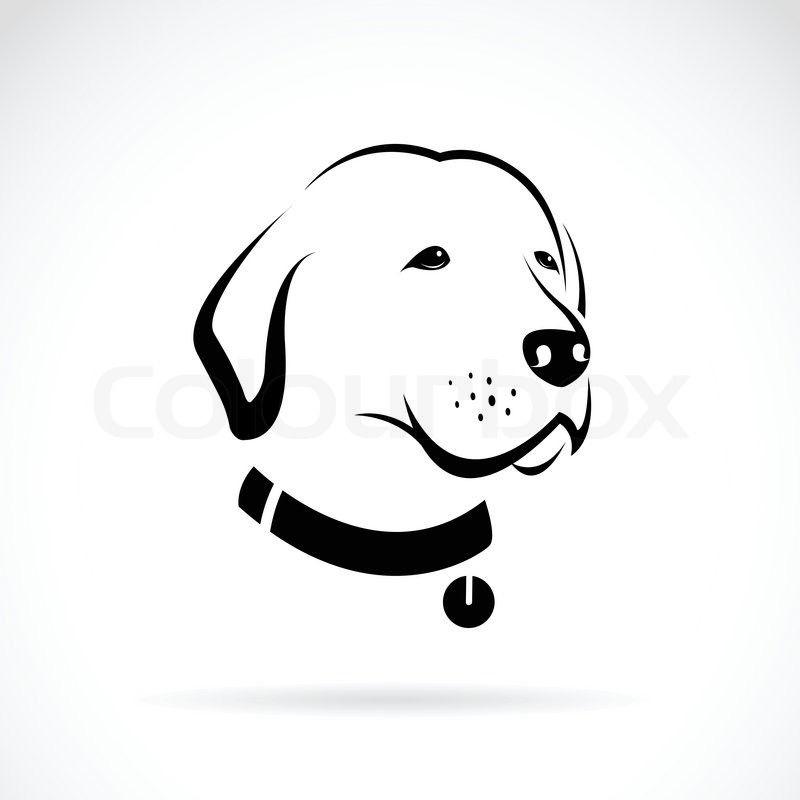 Морда собаки трафарет картинки004