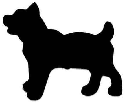 Морда собаки трафарет картинки006