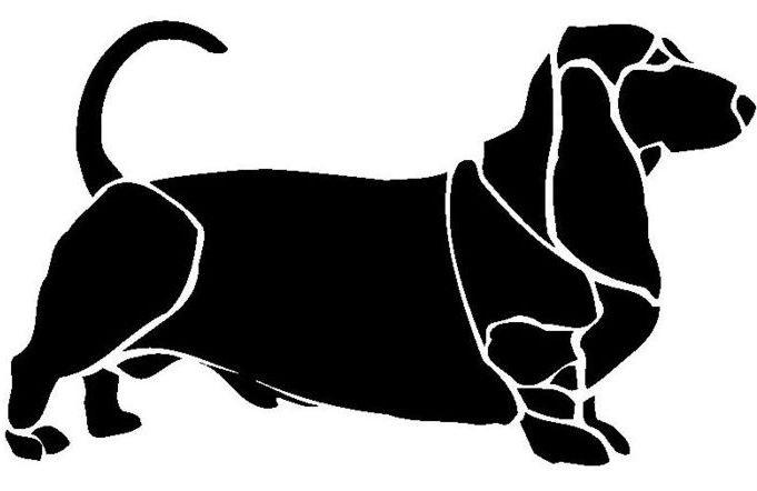 Морда собаки трафарет картинки008