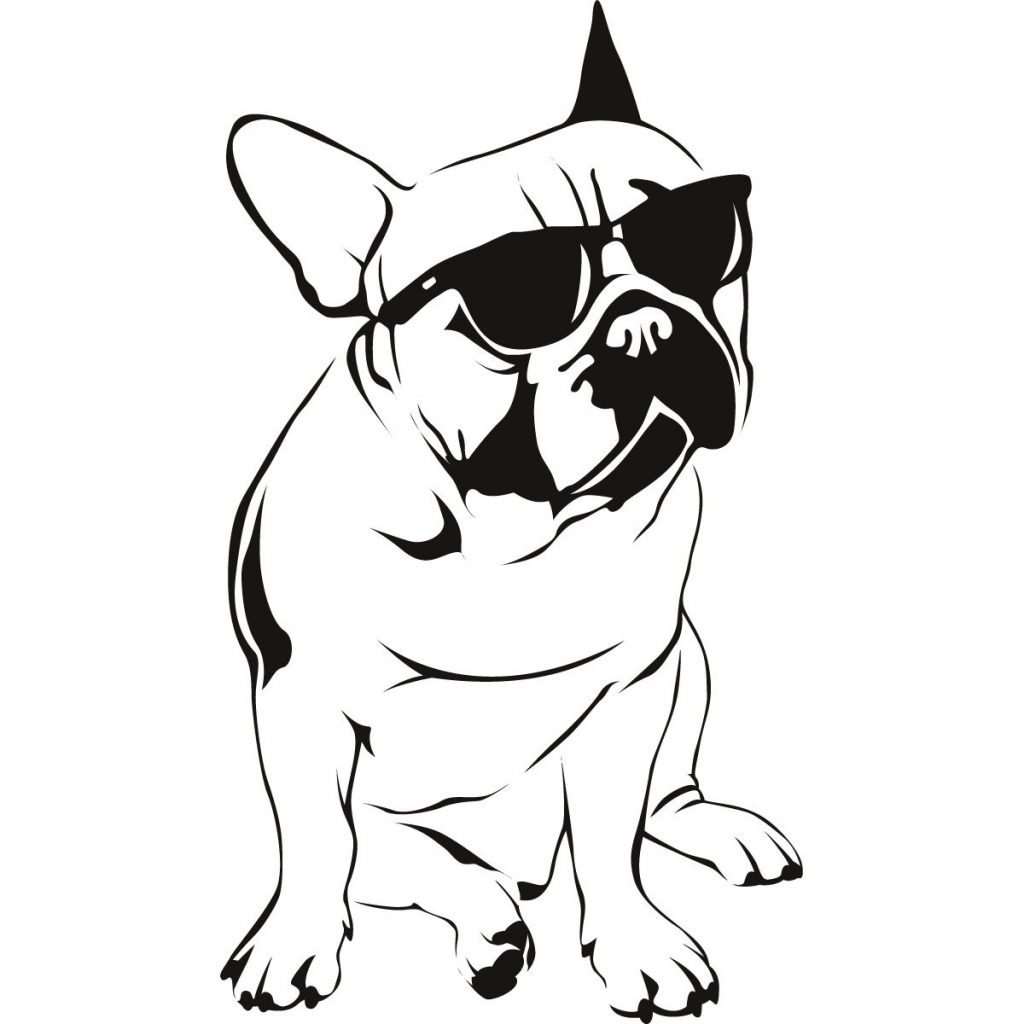 Морда собаки трафарет картинки009
