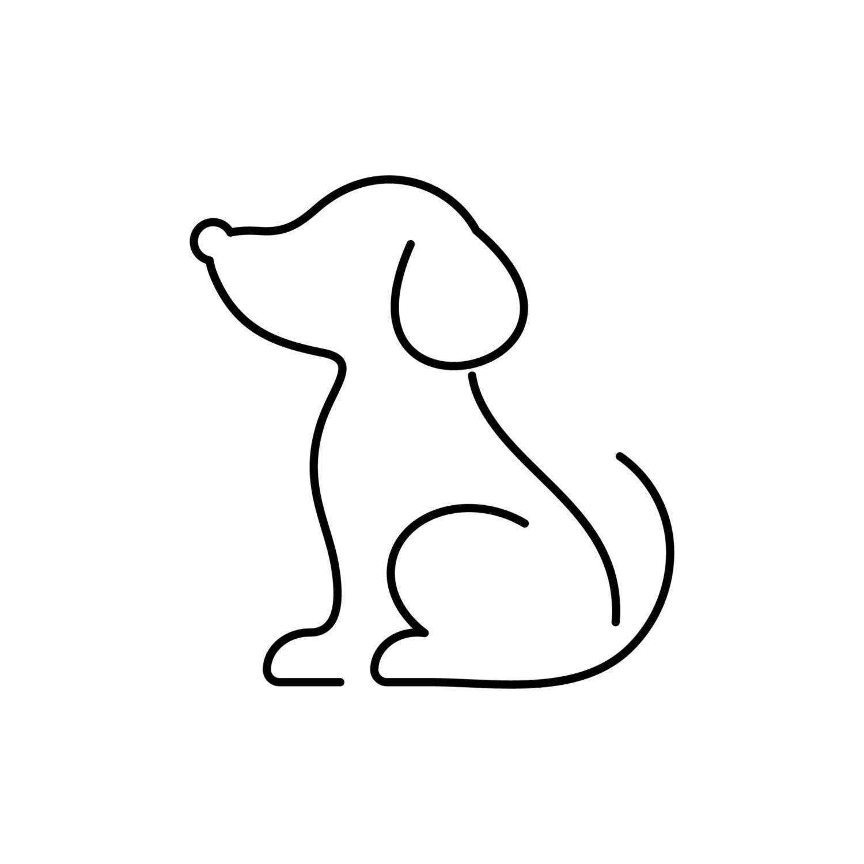Морда собаки трафарет картинки011