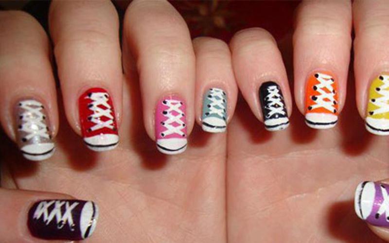 Накрашенные ногти прикольные картинки - подборка (11)