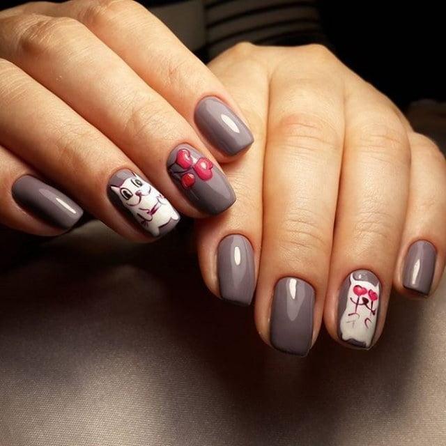 Накрашенные ногти прикольные картинки - подборка (17)