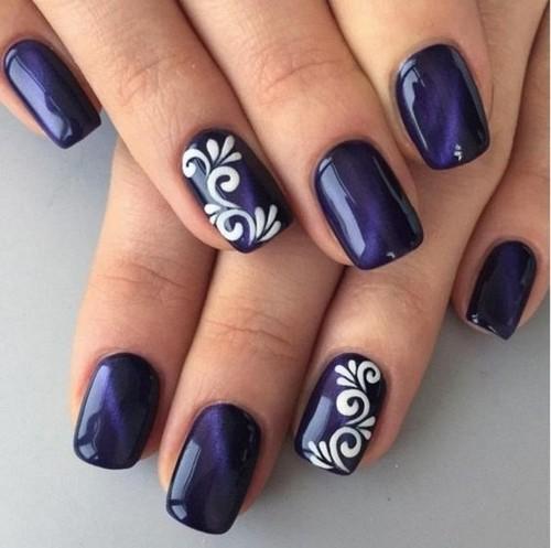 Накрашенные ногти прикольные картинки - подборка (20)