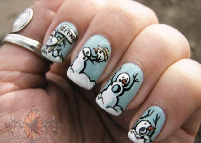 Накрашенные ногти прикольные картинки - подборка (22)