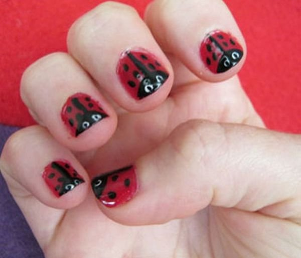 Накрашенные ногти прикольные картинки - подборка (3)