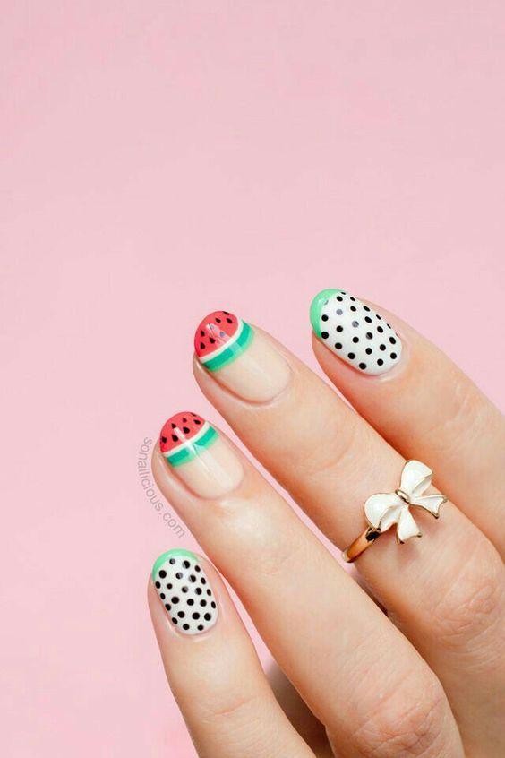 Накрашенные ногти прикольные картинки - подборка (5)