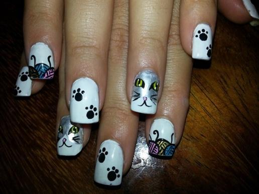 Накрашенные ногти прикольные картинки - подборка (7)