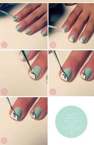 Накрашенные ногти прикольные картинки - подборка (8)