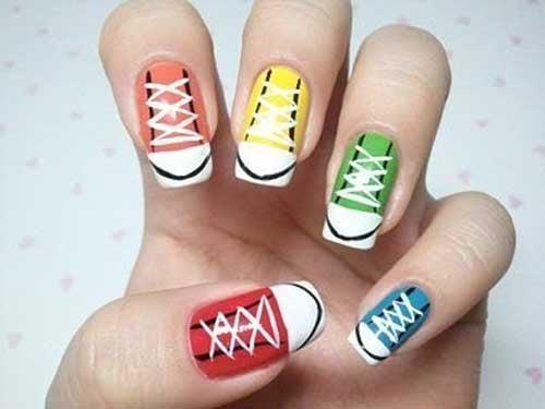 Накрашенные ногти прикольные картинки - подборка (9)