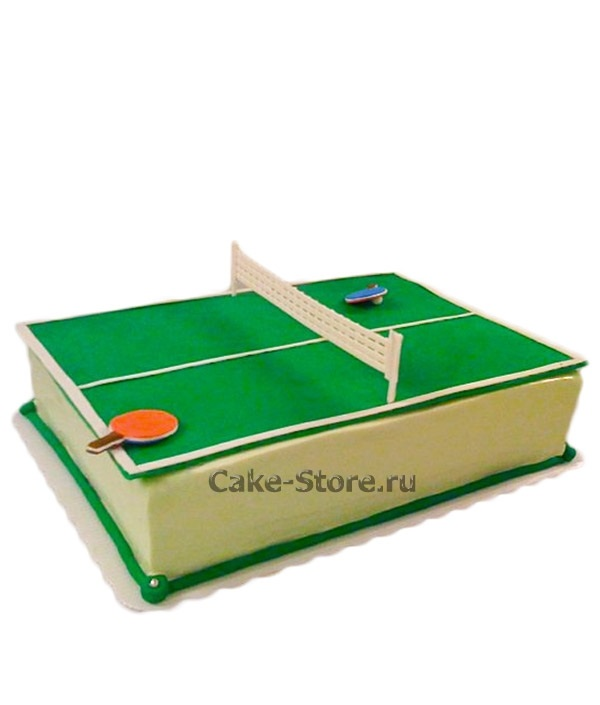 Настольный теннис торт фото002