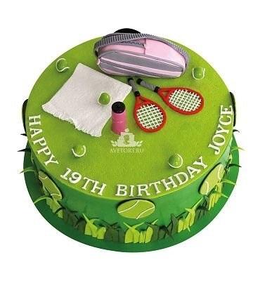 Настольный теннис торт фото014