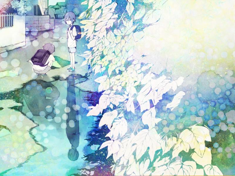 Нежные арты аниме - подборка картинок (31)