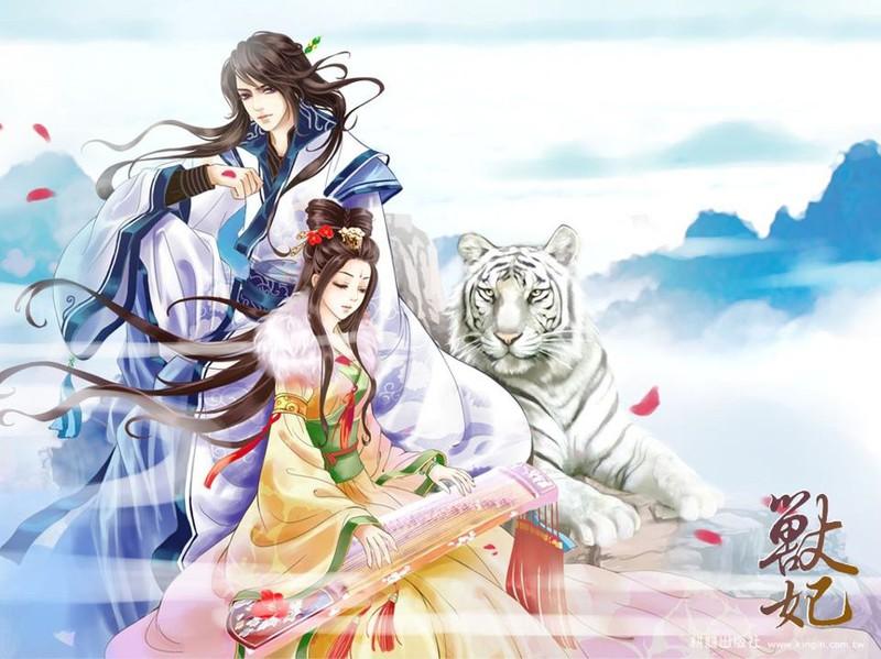 Картинки аниме по китайский