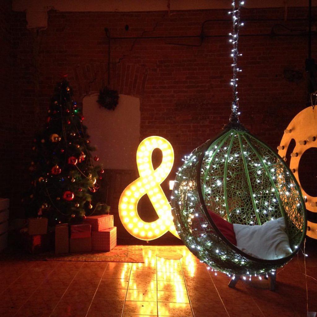 Новогоднее оформление фотостудий - лучшие фото (12)