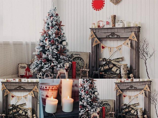 Новогоднее оформление фотостудий   лучшие фото (18)