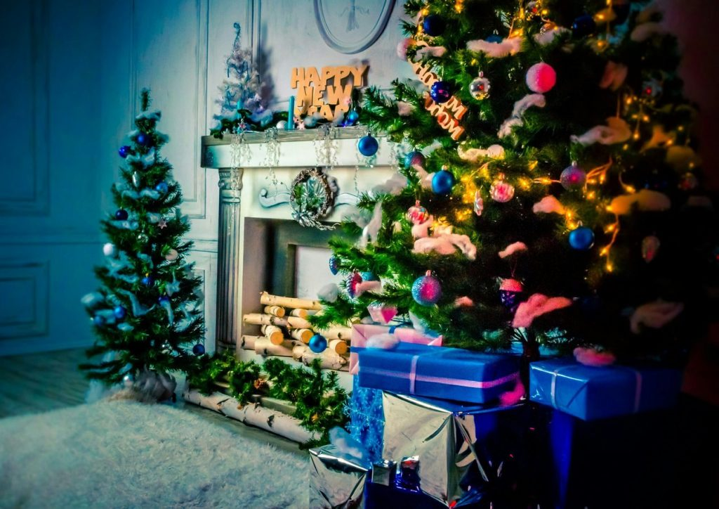 Новогоднее оформление фотостудий - лучшие фото (26)