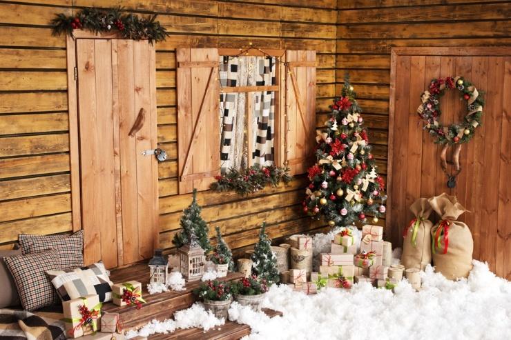 Новогоднее оформление фотостудий   лучшие фото (30)