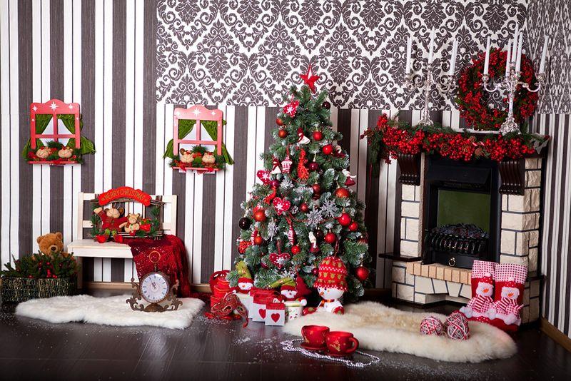 Новогоднее оформление фотостудий   лучшие фото (6)