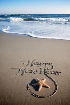Новый год на море картинки и фото019