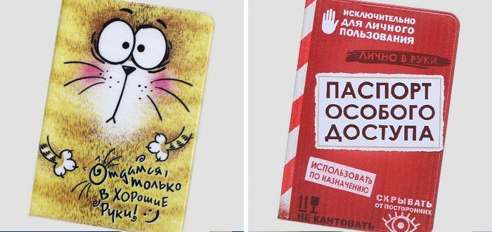 Обложки на паспорт прикольные картинки (21)