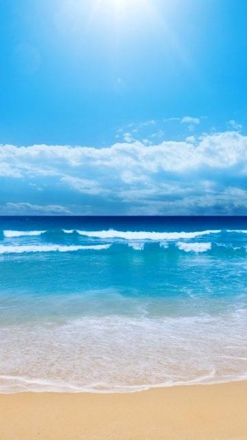 Океан обои на айфон 6011