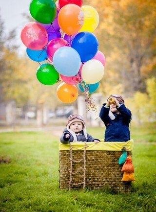 Осенние фотопроекты на природе с шариками001