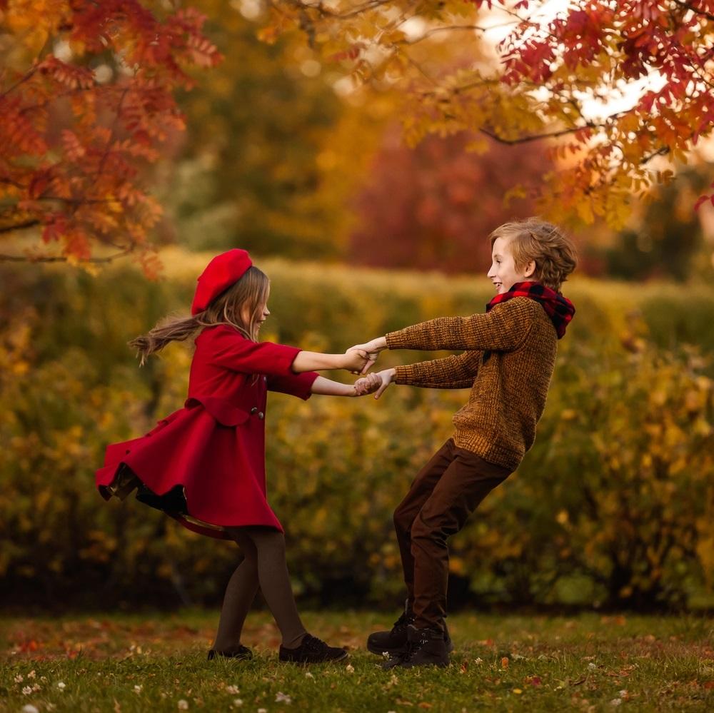 Осенние фотопроекты на природе с шариками007