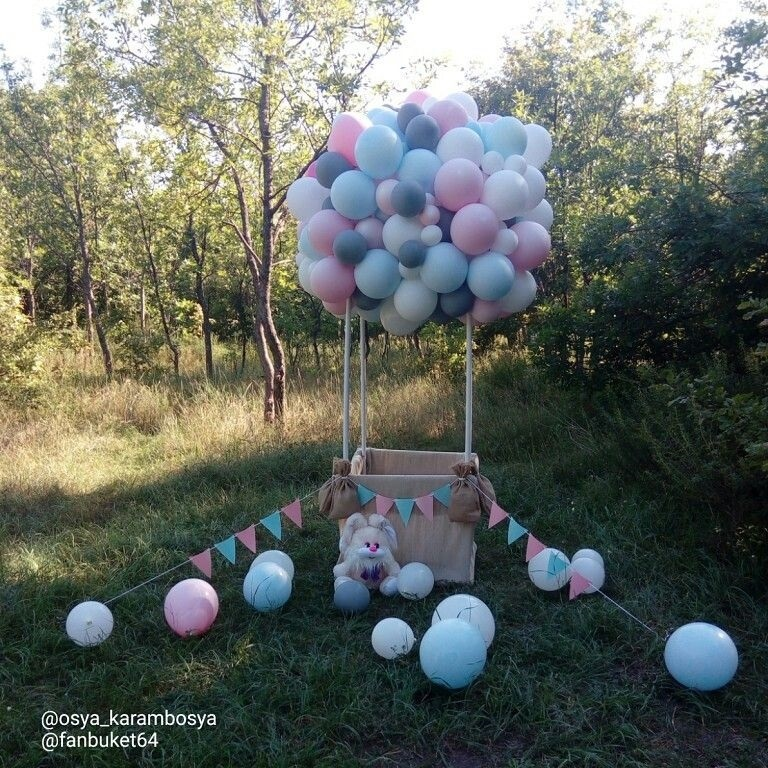 Осенние фотопроекты на природе с шариками013