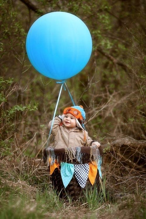 Осенние фотопроекты на природе с шариками018