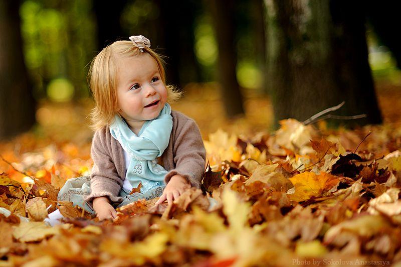 Осенняя семейная фотосессия на природе - фото идеи (14)