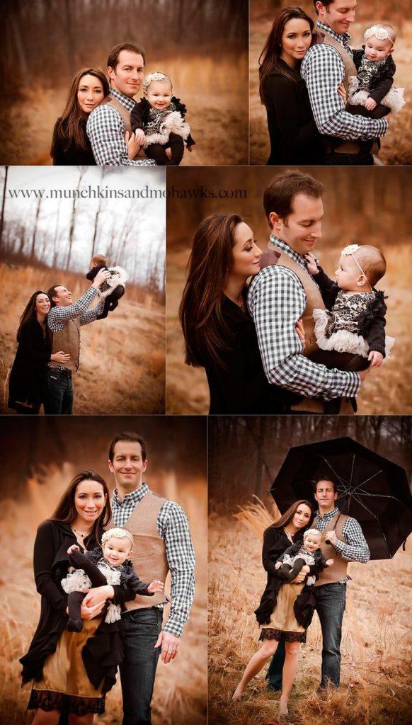 Осенняя семейная фотосессия на природе - фото идеи (20)