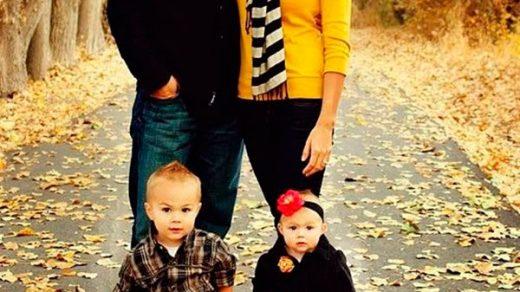 Осенняя семейная фотосессия на природе   фото идеи (26)