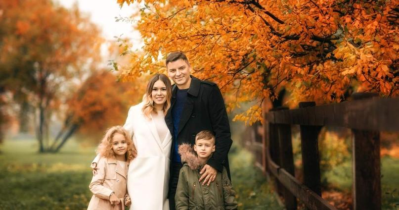 Осенняя семейная фотосессия на природе - фото идеи (29)