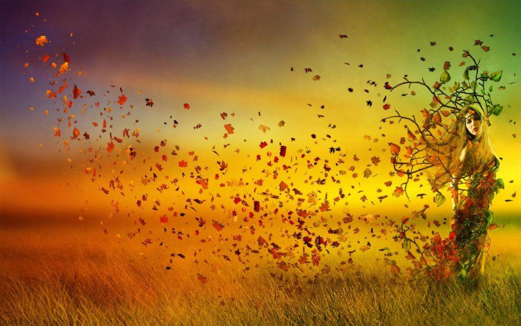 Осень картинки на рабочий стол 3 д006