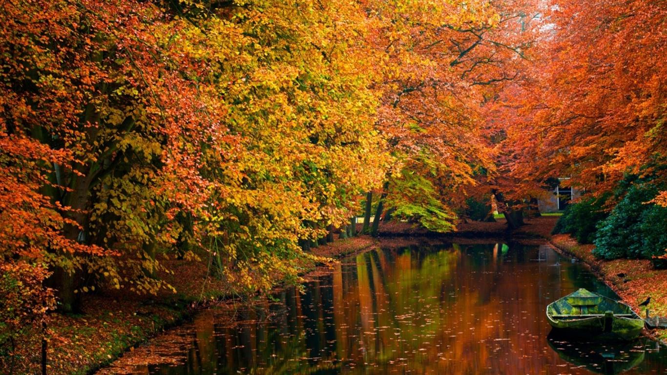 Осень картинки на рабочий стол 3 д009