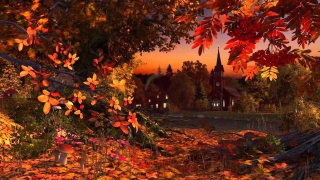 Осень картинки на рабочий стол 3 д018