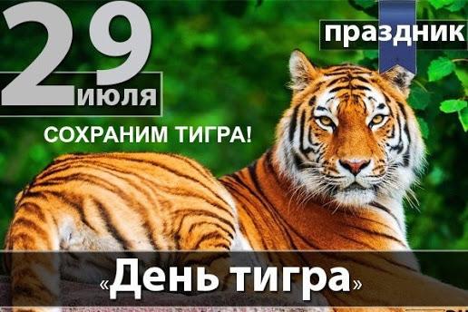 Открытки и картинки поздравления с днем тигра (2)