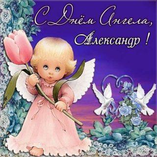 Открытки и картинки с именинами Александр   подборка (1)