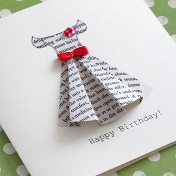 Открытки на день рождения своими руками для лучшей подруги019