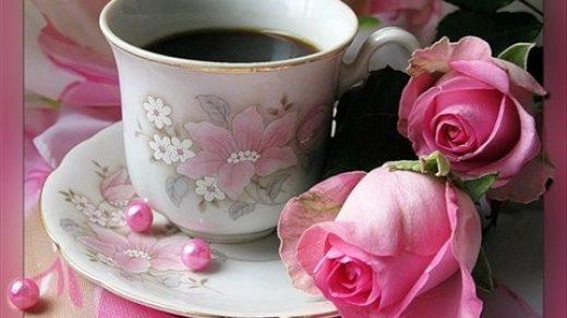 Открытки с добрым утром и хорошим настроением девушке004