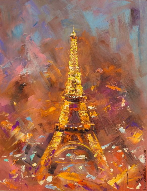 Париж картинки рисованные - 35 рисунков (11)