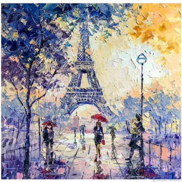 Париж картинки рисованные - 35 рисунков (25)