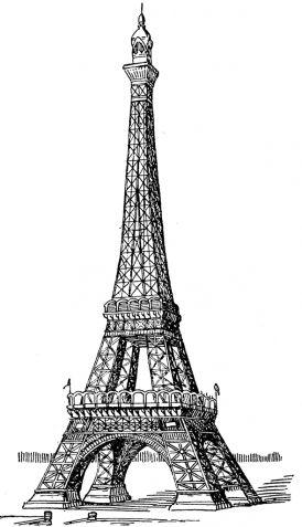 Париж картинки рисованные - 35 рисунков (3)